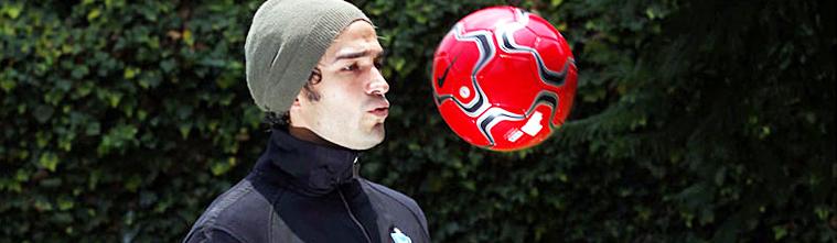 Recuerdos futboleros del actor mexicano Alfonso Herrera