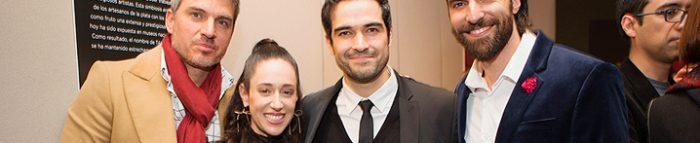 Alfonso Herrera en los Buchanan's Film Awards México
