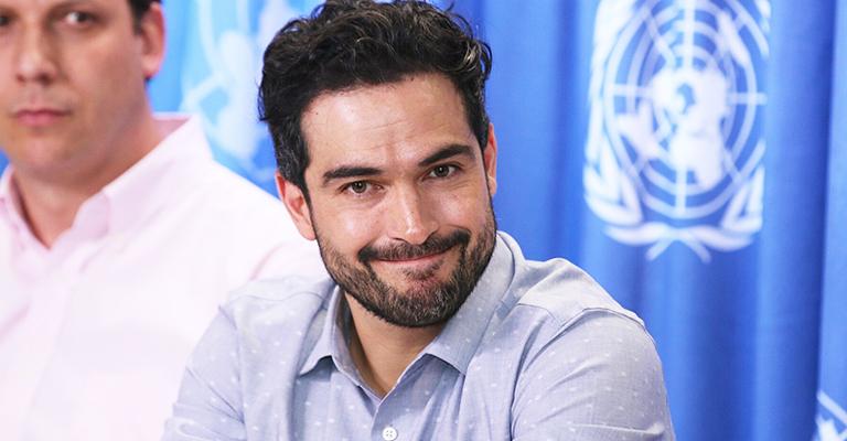 Se une Alfonso Herrera a campaña de ONU Mujeres