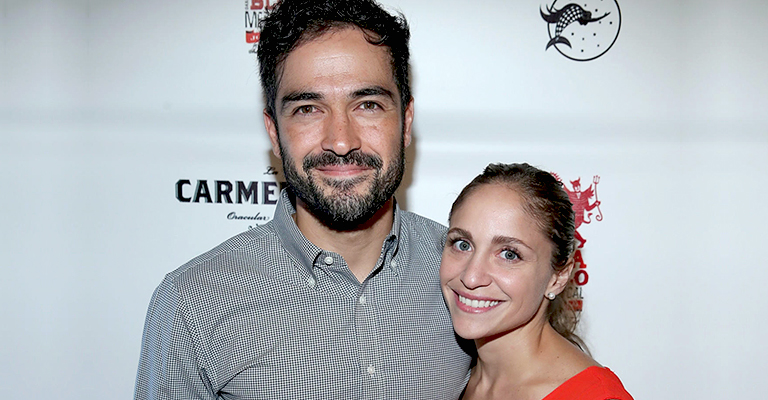 "Alfonso Herrera opens his restaurant ""La Carmencita"" in Los Angeles"