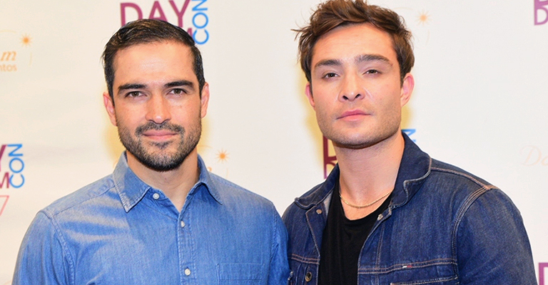 Alfonso Herrera and Ed Westwick meet with fans in São Paulo