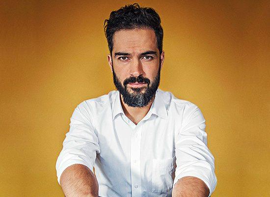 Capa da revista Open México de abril
